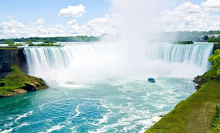 Stay with Family or Couples Package at Quality Inn & Suites in Niagara Falls, ON. Dates into September.