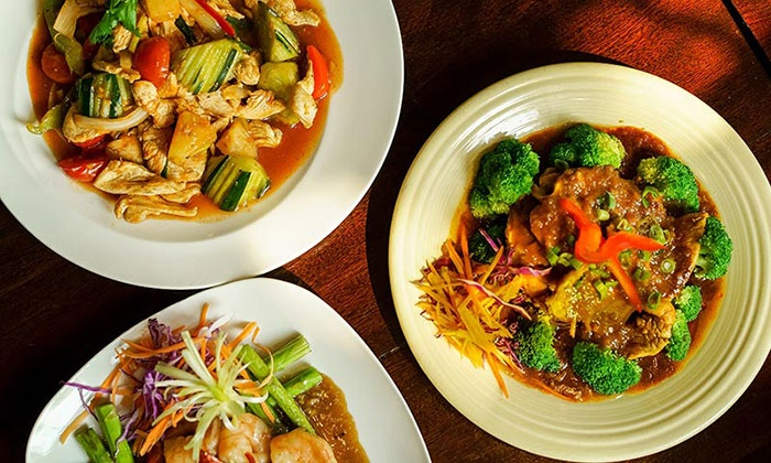Stang of Siam - Mid-Town Belvedere: $11 for $20 Worth of Thai Lunch or Dinner for Two at Stang of Siam