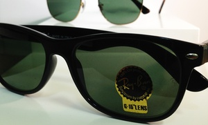 FY Eye Optometry: Ray-Ban Sunglasses at FY Eye Optometry (Up to 48% Off). Five Options Available.
