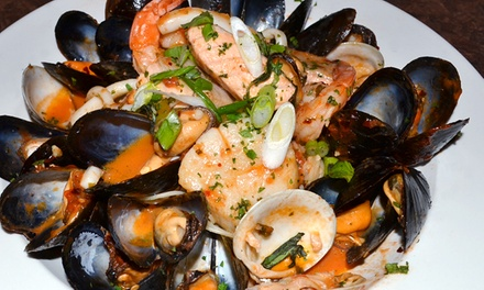 Upscale Italian Dinner and Drinks at La Verona (Up to 43% Off). Two Options Available.