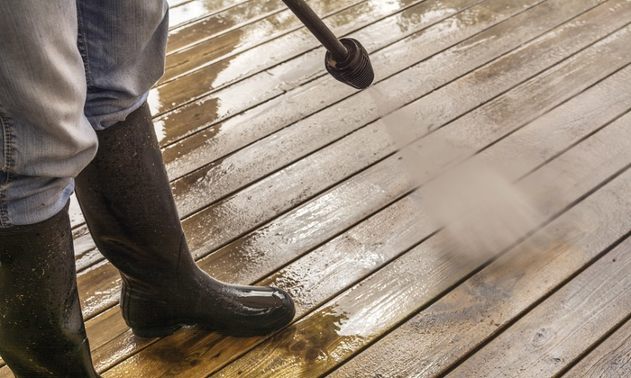 Best-Rate Repair Company, Inc. - San Diego: Four Hours of Wood-Rot Restoration, or Deck Power-Washing from Best-Rate Repair Company, Inc. (Up to 66% Off)