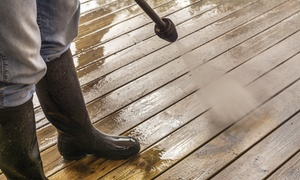 Best-Rate Repair Company, Inc.: Four Hours of Wood-Rot Restoration, or Deck Power-Washing from Best-Rate Repair Company, Inc. (Up to 66% Off)