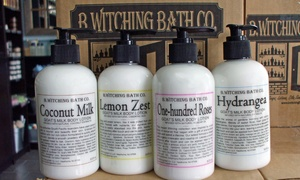 B.Witching Bath Co.: $10 for $20 Worth of Bath and Body Products at B.Witching Bath Co.