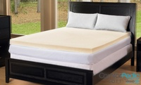 "GROUPON: ComforPedic Loft 1"" Memory Foam Mattress Topper ComforPedic Loft 1\"" Memory Foam Mattress Topper"