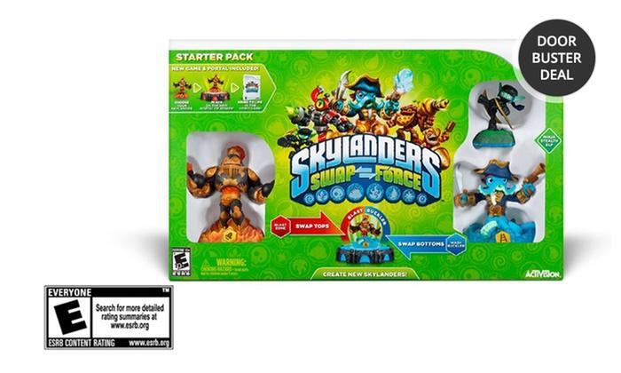 Skylanders SWAP Force Starter Pack: Skylanders SWAP Force Starter Pack for Wii, Xbox 360, PS3, or 3DS. Free Returns.