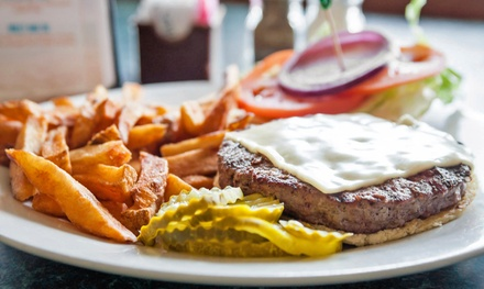 American Food at Grumpy's Restaurant (33% Off). Two Options Available.