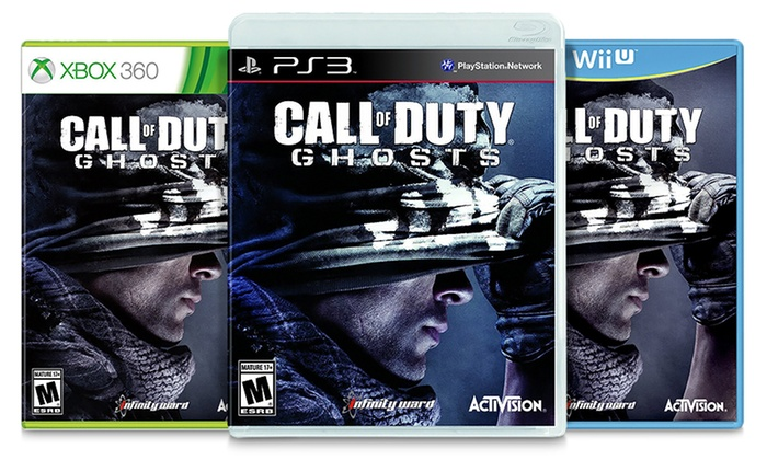 Call of Duty: Ghosts for PlayStation 3, Xbox 360, or Wii U