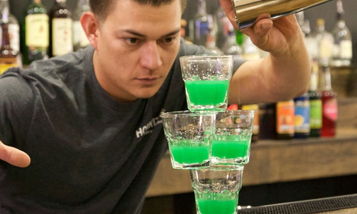 Masters Of Bartending School - Clairemont Mesa East: $225 for Flair Bartender Training at Masters Of Bartending School ($499 Value)