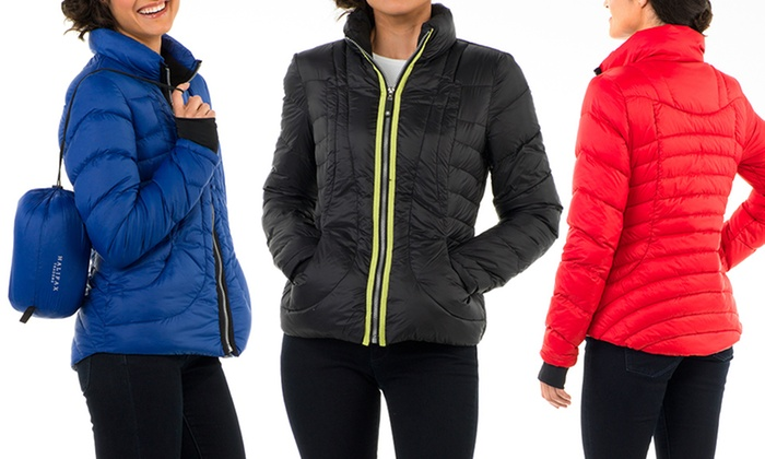 Halifax Women&39s Packable Down Jackets | Groupon