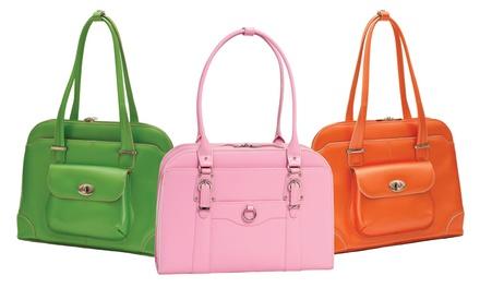 McKlein USA Ladies' Leather Laptop Briefcase
