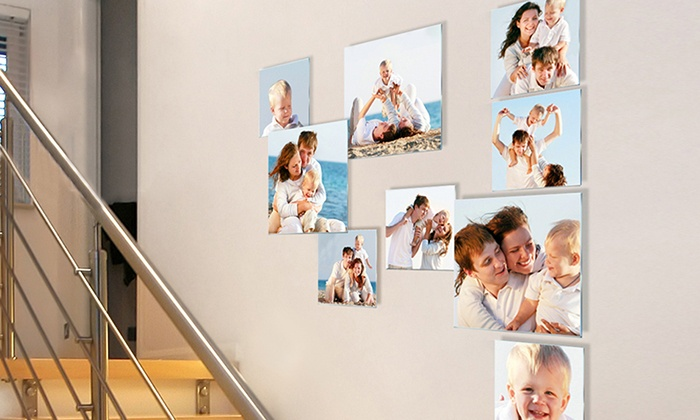 Pixtac: Three-, Five-, or Eight-Piece Personalized Photo to Acrylic Glass Collage from Pixtac.com (Up to 88% Off)