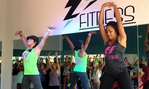 EZ Fitness -Vegas: 10 or 20 Fitness Classes at EZ Fitness -Vegas (Up to 44% Off)