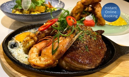 Three-Course Seafood with Cocktails for Two ($79) or Four People ($158) at Humpty Doo (Up to $268 Value)