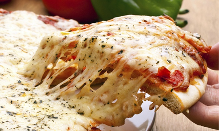 New York Pasta & Pizza - Union City: $15 for Two Large Cheese or One-Topping Pizzas at New York Pasta & Pizza ($30.98 Value)