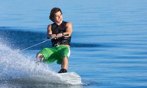 Klub Nart Wodnych Jaworzno: Wakeboarding lub narty wodne za motorówką od 44,99 zł i więcej opcji w Klubie Nart Wodnych w Jaworznie