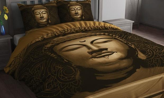 Parure de lit boudha groupon shopping - Housse de couette bouddha ...
