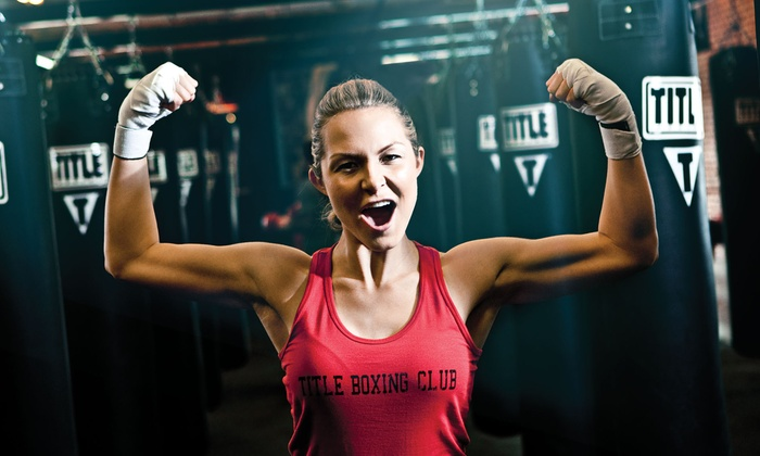 TITLE Boxing Club - Maplewood - Oakdale: Two Weeks or One Month of Unlimited Boxing Classes with Hand Wraps for One at TITLE Boxing Club (Up to 59% Off)