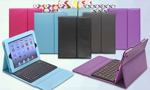Aduro Liqua-shield Ipad Keyboard Folios For Ipad 2/3/4, Air, Or Mini