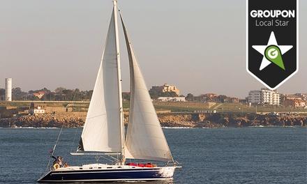 Douro Sailing: passeio de veleiro no Douro e Foz para duas pessoas com sushi e espumante a bordo por 44,90€