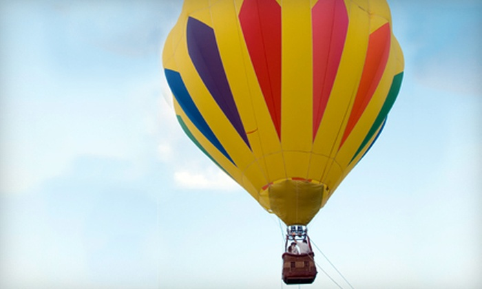Boise Hot Air Company - Boise: Hot-Air-Balloon Ride and Sparkling Beverage Toast for One, Two, or Four from Boise Hot Air Company (Up to 51% Off)