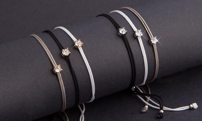 1 ou 2 sets de 3 bracelets Natalia Mestig orns de cristaux Swarovski® dès 12.99 € (jusquà 73% de rduction)