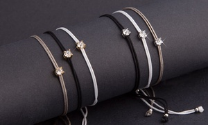 3 bracelets cristaux Swarovski®