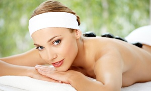 Anew Massage and Wellness - Katherine: Up to 56% Off A Customized Full Body Massage and Organic Facial