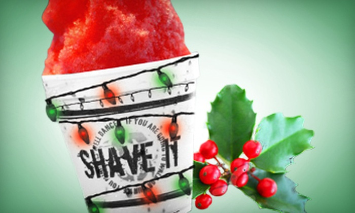 Shave It - Multiple Locations: Shave Ice Gift Card at Shave It (Up to 60% Off). Two Options Available.