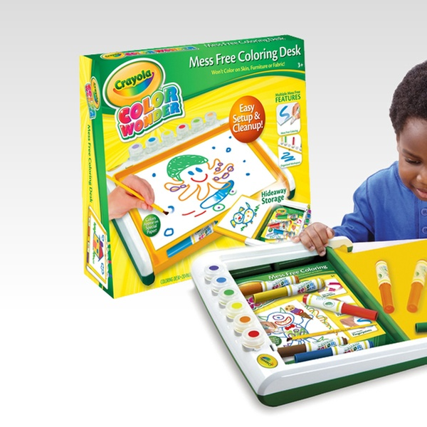 Crayola Mess-Free Colouring Desk | Groupon Goods