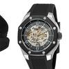 Stührling Skeleton Watch