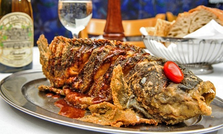 Italian Dinner for Two or Four atBravo! Nader (47% Off)