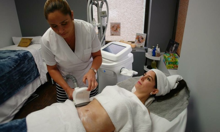 For Him or Her Spa - Multiple Locations: Three Body-Contouring Sessions at For Him or Her Spa (55% Off)