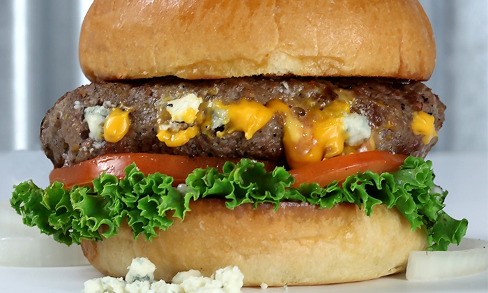 BYO Burger  - West St. Paul: $15 for Two Groupons, Each Good for  $14 Worth of Burgers and Drinks at BYO Burger ($28 Value)