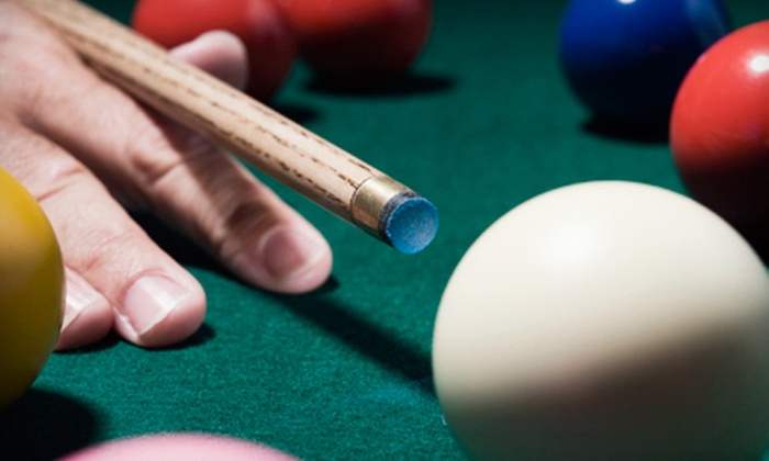 Felt - Englewood: Pub Food and Two Hours of Pool for Two or Four at Felt (Up to 63% Off)