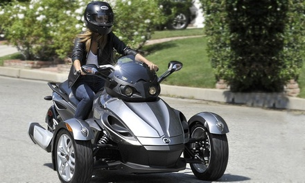 Spyder Rentals at San Diego Spyder Rentals (Up to 54% Off). Four Options Available.