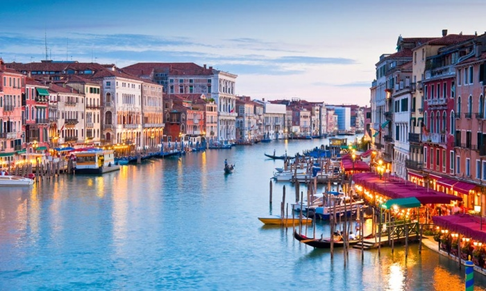 8-Day Italian Vacation with Airfare - Turate: 8-Day Venice and Italian Lakeside Vacation with Airfare from Great Value Vacations
