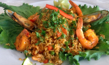 Peruvian Food at Andes Cafe(Up to 50% Off). Two Options Available