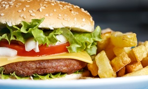 $12 For $20 Worth Of American Diner Cuisine At Paw Paws Hamburgers