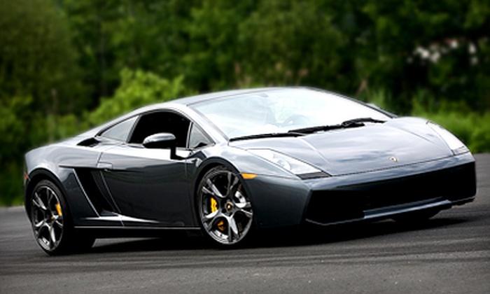 Gotham Dream Cars - Retama Park: $99 for a High-Speed Drive in a Ferrari or Lamborghini from Gotham Dream Cars ($249 Value). Two Options Available.