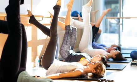 Four Barre3 Fitness Classes or One Month of Unlimited Barre3 Fitness Classes at Barre3 (Up to 51% Off)