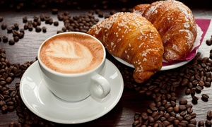 Lady Chocolatt: $12 for Two Groupons, Each Good for $10 Worth of Coffee & Café Food at Lady Chocolatt ($20 Total Value)