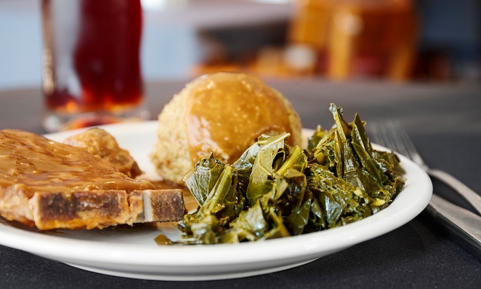 Mrs B's On Fourth - Fountain Heights: Soul Food for Two or Four at Mrs B's On Fourth (Up to 50% Off)