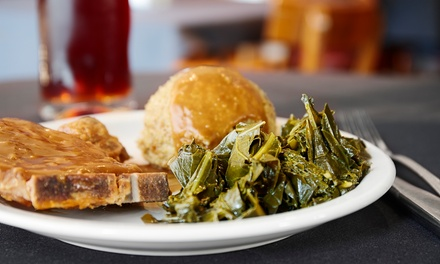 Soul Food for Two or Four at Mrs B's On Fourth (Up to 67% Off)