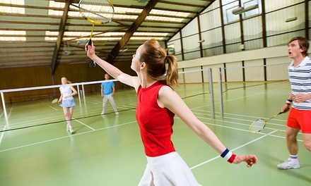$26 for One-Hour Badminton Court for Up to 6 People + Racquet Hire for Up to 4 People at Victor Badminton Centre