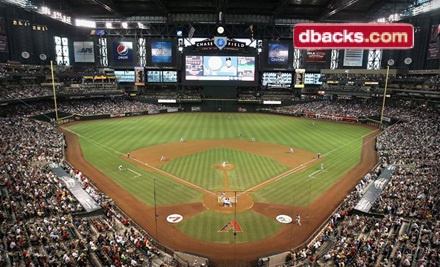 Arizona Diamondbacks at Chase Field on April 23 or April 24 at 6:40PM or April 25 at 12:40PM: Infield or Baseline Seating - D-Backs vs. Phillies in Phoenix
