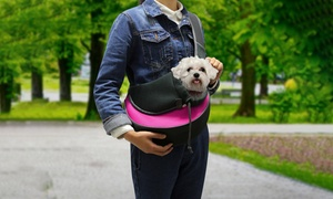 Hands-Free Pet Travel Carrier Shoulder Sling Bag