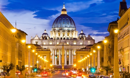 ✈ Rome, Venice and Florence: 6 or 9 Nights with Train Transfers and Return Flights at Choice of Hotels*