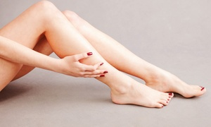 Mid City Salon: Shellac Manicure, Deluxe Pedicure, or Both at Mid City Salon (Up to 48% Off)