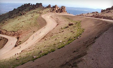 Pikes Peak AM Bike Tour with Gear, Breakfast and Lunch for 1 Rider (a $120 value) - Challenge Unlimited - Pikes Peak by Bike in Colorado Springs