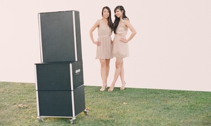 Speedy Photo Booth: $375 for a Three-Hour Photo-Booth Rental from Speedy Photo Booth ($900 Value)